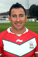 PICTURE BY IAN LOVELL/WRL...Rugby League - Wales Rugby League Headshots 2011 - 21/10/11...Wales Mark Lennon.