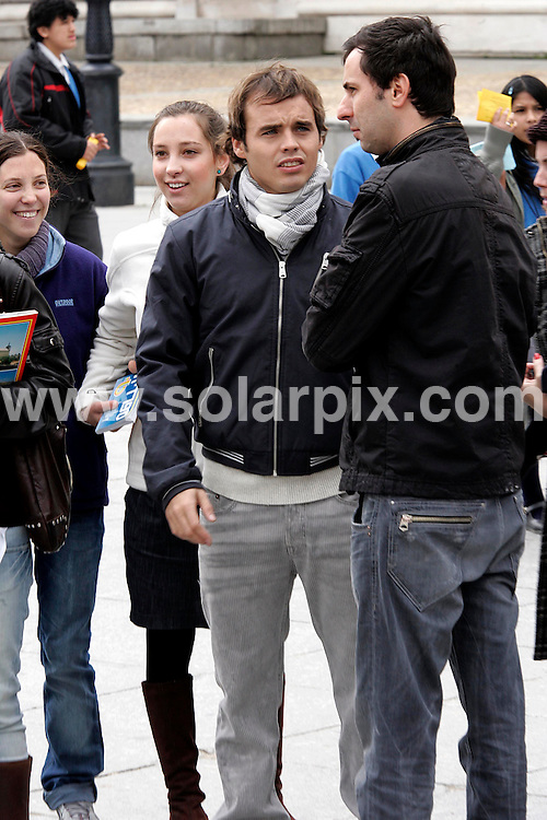 **ALL-ROUND EXCLUSIVE PICTURES FROM SOLARPIX.COM**.**WORLD SYNDICATION RIGHTS EXCEPT BELGIUM, GERMANY, HOLLAND, SCANDINAVIA, SOUTH AMERICA, SPAIN, & USA**.Benjamin Rojas, Argentine actor and musician and actor in Rebelde Way, was in Madrid to present the new Disney Channel production TV series Jake & Blake. The young actor spent time with fans that had come out to meet him. Madrid, Spain. 25 March 2010..This pic: Benjamin Rojas..JOB REF: 10981SKX      DATE:  25_03_2010.**MUST CREDIT SOLARPIX.COM OR DOUBLE FEE WILL BE CHARGED**.**MUST AGREE FEE BEFORE ONLINE USAGE**.**CALL US ON: +34 952 811 768 or LOW RATE FROM UK 0844 617 7637**