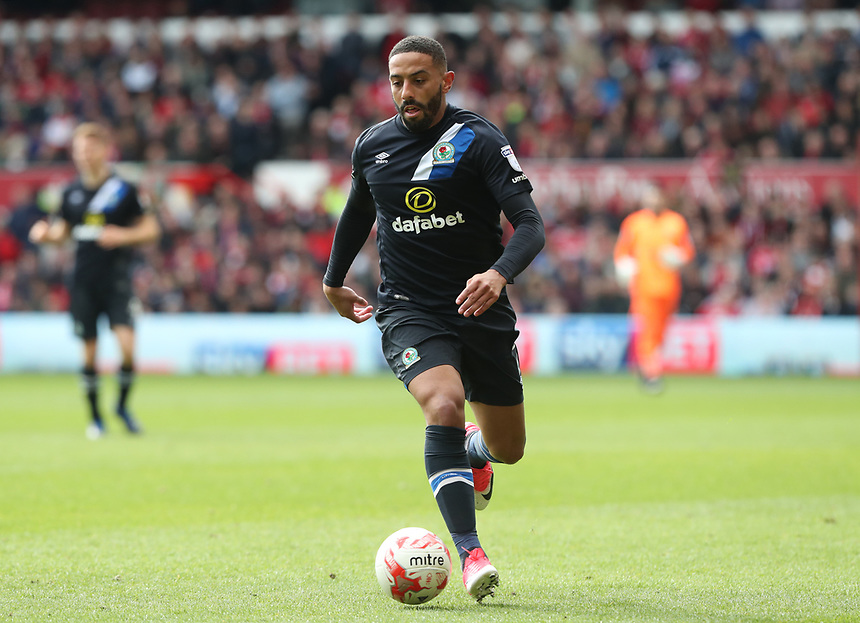 Blackburn Rovers' Liam Feeney <br /> <br /> Photographer Rachel Holborn/CameraSport<br /> <br /> The EFL Sky Bet Championship - Nottingham Forest v Blackburn Rovers - Friday 14th April 2016 - The City Ground - Nottingham<br /> <br /> World Copyright &copy; 2017 CameraSport. All rights reserved. 43 Linden Ave. Countesthorpe. Leicester. England. LE8 5PG - Tel: +44 (0) 116 277 4147 - admin@camerasport.com - www.camerasport.com
