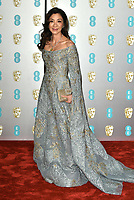 Michelle Yeoh<br /> The EE British Academy Film Awards 2019 held at The Royal Albert Hall, London, England, UK on February 10, 2019.<br /> CAP/PL<br /> ©Phil Loftus/Capital Pictures
