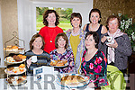 Enjoying a cuppa at the coffee  morning in aid of her friend Joanne McMahon in Fossa on Friday l-r: Eileen lucey, Aine Myers, Daphne O'Donoghue. Back row: Theresa Kissane, Margaret O'Sullivan, Catriona Stack-Clifford and Eileen O'Reilly