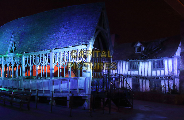 LEAVESDEN, ENGLAND - WB Studio Tour - Hogwarts in the Snow - Harry Potter set becomes a winter wonderland to celebrate the festive season, Leavesden Studios, UK on December 15th 2015<br /> CAP/ROS<br /> &copy;Steve Ross/Capital Pictures