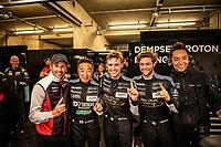 #88 DEMPSEY PROTON RACING (DEU) PORSCHE 911 RSR LM GTE AM SATOSHI HOSHINO (JPN) GIORGIO RODA (ITA) MATTEO CAIROLI (ITA) POLE SITTER GTE AM