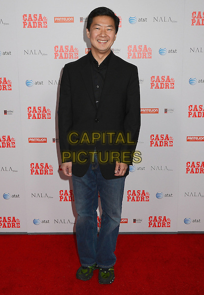 "Ken Jeong.""Casa de mi Padre"" Los Angeles Premiere at Grauman's Chinese Theatre, Hollywood, California, USA..March 14th, 2012.full length black suit jacket jeans denim.CAP/ADM/BT.©Birdie Thompson/AdMedia/Capital Pictures."