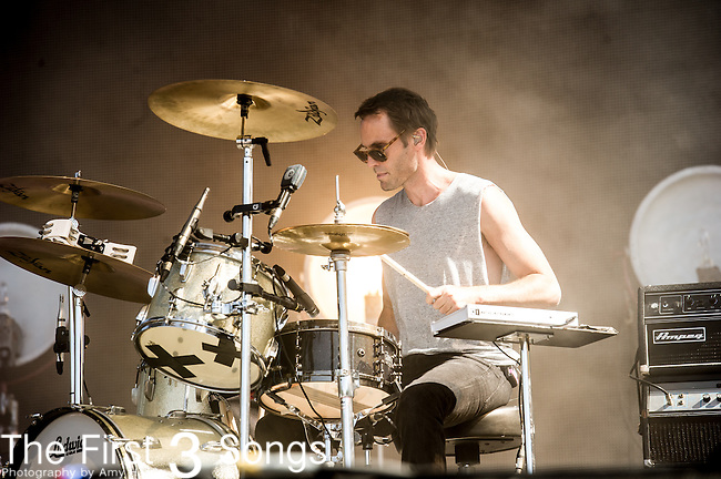 Brad Hargreaves of Third Eye Blind performs at the 2nd Annual BottleRock Napa Festival at Napa Valley Expo in Napa, California.