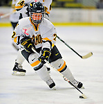 21 February 2009: University of Vermont Catamounts' forward Chelsea Rapin, a Freshman from Walled Lake, MI, in action against the University of Maine Black Bears at Gutterson Fieldhouse in Burlington, Vermont. The Catamounts shut out the Black Bears 1-0. Mandatory Photo Credit: Ed Wolfstein Photo