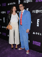 20 May 2016 - Hollywood, California - Naomi Nelson, Johnny Knoxville. Arrivals for the P.S. ARTS Presents: The pARTy! held at Neuehouse. Photo Credit: Birdie Thompson/AdMedia