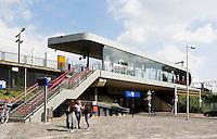 Nederland  Amsterdam 2016. Treinstation Science Park.  Foto Berlinda van Dam / Hollandse Hoogte