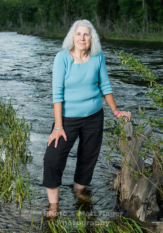 County Manager for Grand County Lurline Curran at Rainbow Bridge in Grand Lake, Colorado, Monday, June 30, 2015. <br /> <br /> Photo by Matt Nager