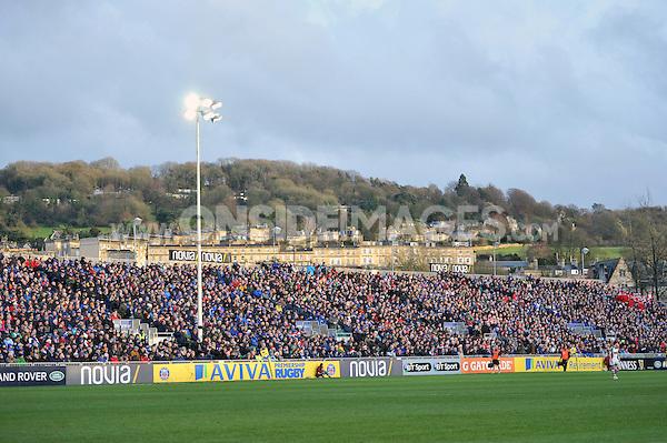 Novia stand - Bath Rugby v Harlequins | Onside Images, Sports Photo ...