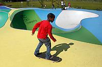 AMSTERDAM- Bijlmer park. Recreatie en sportpark. Skatepark