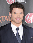 Kellan Lutz attends the Relativity World Premiere of Immortals held at The Nokia Theater Live in Los Angeles, California on November 07,2011                                                                               © 2011 DVS / Hollywood Press Agency