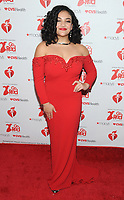 NEW YORK, NY - FEBRUARY 07:  Laurie Hernandez attends The American Heart Association's Go Red For Women Red Dress Collection 2019 Presented By Macy's at Hammerstein Ballroom on February 7, 2019 in New York City.     <br /> CAP/MPI/GN<br /> &copy;GN/MPI/Capital Pictures