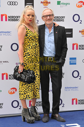 Maddie Chapman and Mike Chapman at the Nordoff Robbins O2 Silver Clef Awards 2019, JW Marriott Grosvenor House Hotel, Park Lane, London, England, UK, on Friday 05th July 2019.<br /> CAP/CAN<br /> ©CAN/Capital Pictures