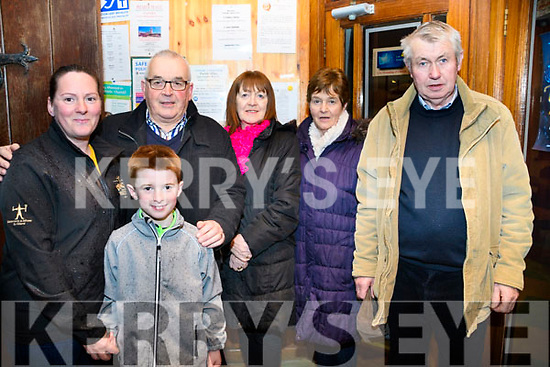 Concert at St James Church Glenbeigh on Friday night featuring Glenbeigh Mens shed choir, O Happy Days choir, and others, in aid of parish funds<br /> L-R Lorraine Sheehan, Humphrey Hay, Liz O'Shea, Joan Griffin, John Griffin &amp; in front, Aidan Sheehan.