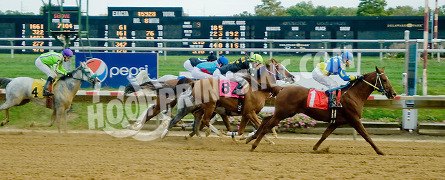 Ayers winning at Delaware Park on 10/1/12