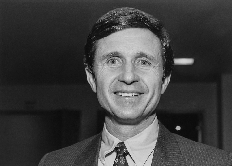 Rep. Wally Herger, R-Calif., on May 15, 1989. (Photo by Laura Patterson/CQ Roll Call via Getty Images)