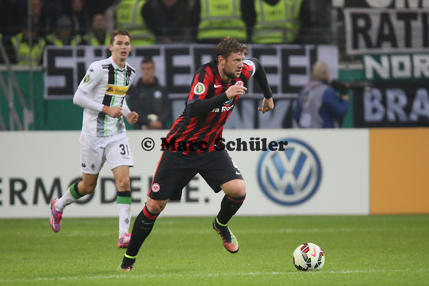 Marco Russ (Eintracht) - Eintracht Frankfurt vs. Borussia Mönchengladbach, DFB-Pokal 2. Runde, Commerzbank Arena