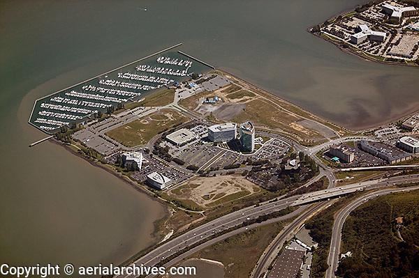 aerial photograph Oyster Point, South San Francisco, San Mateo county, California