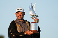 Lee Westwood (ENG) winner of the Abu Dhabi HSBC Championship at the Abu Dhabi Golf Club, Abu Dhabi, United Arab Emirates. 19/01/2020<br /> Picture: Golffile | Thos Caffrey<br /> <br /> <br /> All photo usage must carry mandatory copyright credit (© Golffile | Thos Caffrey)
