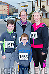 Joshua, Katie and Alex Fleming with Josephine Tarrant all Ballydesmond at the Kingdom 10 mile road race in Castleisland on Sunday