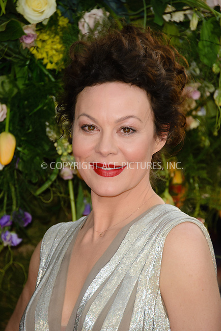 WWW.ACEPIXS.COM<br /> <br /> April 13 2015, London<br /> <br /> Helen McCrory arriving at the UK premiere of 'A Little Chaos' at the Odeon Kensington on April 13 2015 in London <br /> <br /> By Line: Famous/ACE Pictures<br /> <br /> <br /> ACE Pictures, Inc.<br /> tel: 646 769 0430<br /> Email: info@acepixs.com<br /> www.acepixs.com