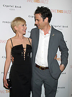 June 21, 2012 Michelle Williams and Luke Kirby at the screening of Take This Waltz presented by Forevermark at the Sunshine Landmark in New York City. © RW/MediaPunch Inc. NORTEPHOTO.COM<br />