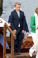 TRONDHEIM, NORWAY - JUNE 23:  Prince Sverre Magnus of Norway, on a visit to Trondheim, during the King and Queen of Norway's Silver Jubilee Tour, on June 23, 2016 in Trondheim, Norway.