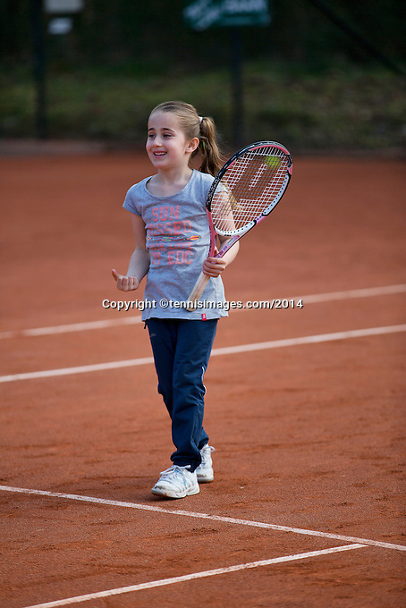 Harderwijk The Netherlands. 30.03.2014. Open Tennis Dagen<br /> Photo:Tennisimages/Henk Koster