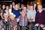 Eddie O'Sullivan from Blennerville celebrated his 70th birthday last Saturday night in Skelper Quanes in the village along with many friends and family.