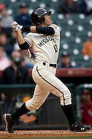 Missouri TIger Eric Garcia against the Houston Cougars on Friday March 5th, 2100 at the Astros College Classic in Houston's Minute Maid Park.  (Photo by Andrew Woolley / Four Seam Images)