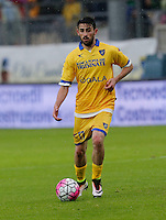 Luca Paganini during the  italian serie a soccer match,between Frosinone and Inter      at  the Matusa   stadium in Frosinone  Italy , April 09, 2016