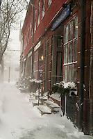 West Main St. Blizzard