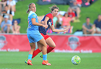 Boyds, MD - Saturday July 09, 2016: Alyssa Mautz, Alyssa Kleiner during a regular season National Women's Soccer League (NWSL) match between the Washington Spirit and the Chicago Red Stars at Maureen Hendricks Field, Maryland SoccerPlex.