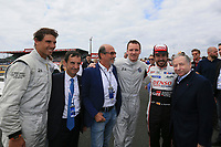 RAFAEL NADAL (ESP) TENNIS MAN RICHARD MILLE (FRA) HEAD OF ENDURANCE COMMISSION #8 TOYOTA GAZOO RACING (JPN) TOYOTA TS050 HYBRID LMP1  FERNANDO ALONSO (ESP) JEAN TODT (FRA) PRESIDENT OF THE INTERNATIONAL FEDERATION OF THE AUTOMOBILE MICHAEL FASSBENDER (GER) ACTOR
