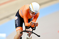 Picture by SWpix.com - 03/03/2018 - Cycling - 2018 UCI Track Cycling World Championships, Day 4 - Omnisport, Apeldoorn, Netherlands - Women's Individual Pursuit - Annemiek van Vlentuen of The Netherlands