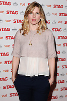 """Eva Birthistle arrives for the premiere of """"The Stag"""" at the Vue Leicester Square, London. 13/03/2014 Picture by: Steve Vas / Featureflash"""