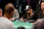 Team Pokerstars Pro Vanessa Rousso vs. Ronnie Bardah, left foreground.