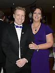Mal and Martha Matthews pictured at the Cystic Fibrosis gala ball in the Grove Hotel Dunleer. Photo:Colin Bell/pressphotos.ie