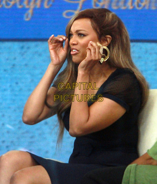 NEW YORK, NY April 02, 2018:   Tyra Banks at Today Show  to talk about new book Perfect Is Boring  in New York. April 02, 2018 <br /> CAP/MPI/RW<br /> &copy;RW/MPI/Capital Pictures