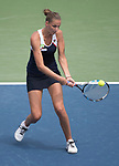 August 19,2017:   Karolina Pliskova (CZE) loses to Garbine Muguruza (ESP) 6-3, 6-2, in the semifinals at the Western & Southern Open being played at Lindner Family Tennis Center in Mason, Ohio.  ©Leslie Billman/Tennisclix/CSM