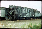 3/4 view of D&amp;RGW rotary #OY, possibly at Chama.  A bit of D&amp;RGW outfit RPO #X54 shows at the left.<br /> D&amp;RGW  Chama ?, NM