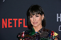 "LOS ANGELES, CA. October 22, 2018: Constance Zimmer at the season 6 premiere for ""House of Cards"" at the Directors Guild Theatre.<br /> Picture: Paul Smith/Featureflash"