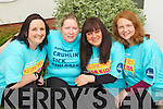 Training for the Rose of Tralee 10k Clodagh Moynihan, Mary Quinn, Tanya Green and Una Houlihan.