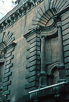 Nicholas Hawksmoor: St. Mary Woolnoth, London. North facade. Photo '05.