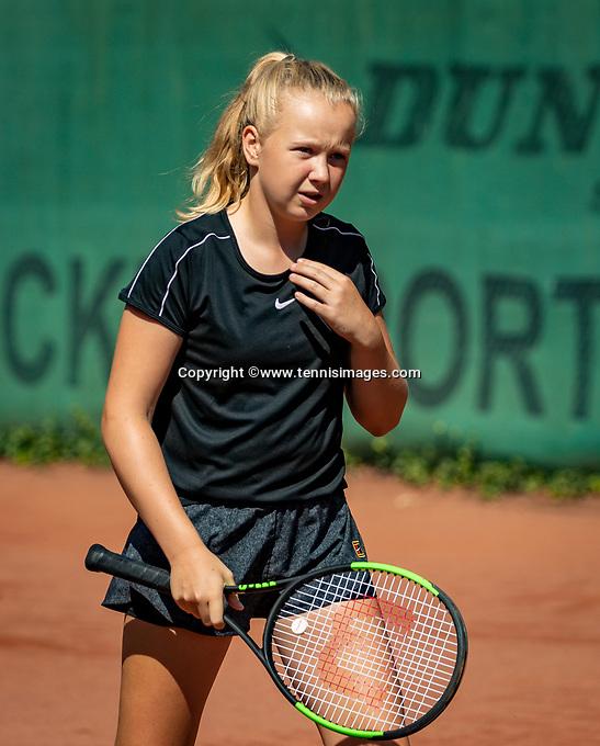 Hilversum, Netherlands, Juli 29, 2019, Tulip Tennis center, National Junior Tennis Championships 12 and 14 years, NJK, Britt Du Pree (NED)<br /> Photo: Tennisimages/Henk Koster