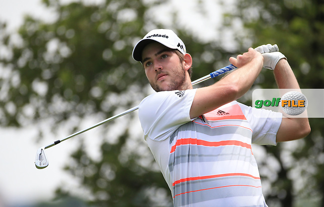 Bradley Neil (SC0) plays down the 4th on the West Course during Round 2 of the 2016 Joburg Open Celebrating 10 years, played at the Royal Johannesburg and Kensington Golf Club, Gauteng, Johannesburg, South Africa.  15/01/2016. Picture: Golffile | David Lloyd<br /> <br /> All photos usage must carry mandatory copyright credit (&copy; Golffile | David Lloyd)