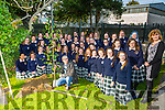 Simon Tierney of  Obsessive Compulsive Disorder Ireland or OCD Ireland planted a silver birch tree at an Awareness talk at Presentation Secondary School on Friday