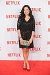 Eva Marciel attends Netflix presentation in Madrid, Spain. October 20, 2015. (ALTERPHOTOS/Victor Blanco)