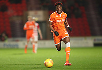 Blackpool's Armand Gnanduillet<br /> <br /> Photographer Rachel Holborn/CameraSport<br /> <br /> The EFL Sky Bet League One - Doncaster Rovers v Blackpool - Tuesday 27th November 2018 - Keepmoat Stadium - Doncaster<br /> <br /> World Copyright &copy; 2018 CameraSport. All rights reserved. 43 Linden Ave. Countesthorpe. Leicester. England. LE8 5PG - Tel: +44 (0) 116 277 4147 - admin@camerasport.com - www.camerasport.com